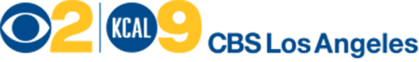 Logo Recognizing Law Office of John D. Barnett's affiliation with CBS Los Angeles