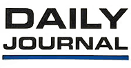 Logo Recognizing Law Office of John D. Barnett's affiliation with Daily Journal